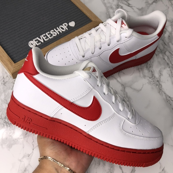 Nike Air Force 1 - Red - White